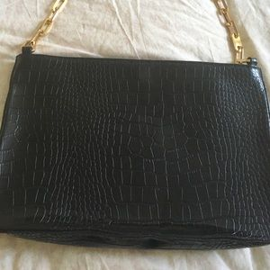 Vintage park Ave New York Handbag Purse Gold Chain